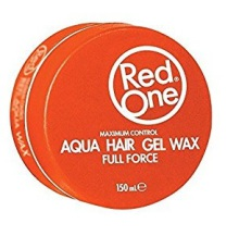 Red One Aqua Hair Gelwax Full Force Orange 150ml
