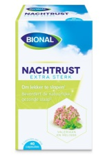 Bional Nachtrust Extra Sterk 40 capsules