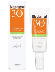 Biodermal Zonnebrand Matterende Fluid SPF30 40ml