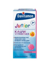 Davitamon Junior 3+ Framboos 60 tabletten