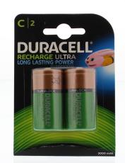 Duracell Rechargeable C HR14 2st