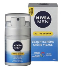 Nivea For Men Active Energy Gezichtscrème  50ml