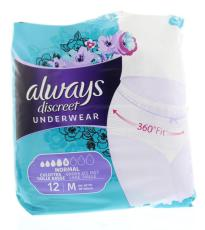 Always Discreet incontinentie pants M 12st