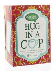 Natural Temptation Hug In A Cup Thee  18 Stuks