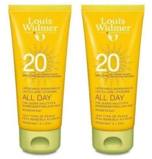 Louis Widmer Zonnebrand All Day Ongeparfumeerd SPF20 200 ml