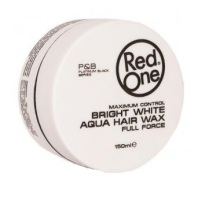 Red One Bright White Aqua Hair Wax Full Force 150ml