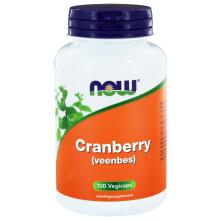 Now Cranberry (Veenbes) 100 capsules