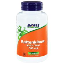 Now Kattenklauw 500mg 100 capsules