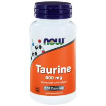Now Taurine 500mg 100 capsules