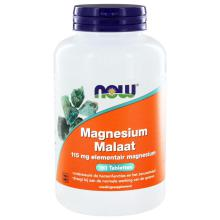 Now Magnesium Malaat 115mg 180 tabletten