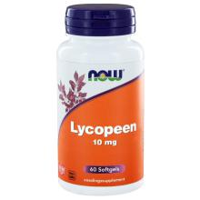Now Lycopeen 10mg 60 softgels