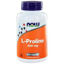 Now L-Proline 500mg 120 capsules