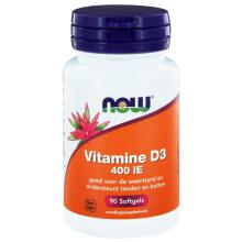 Now Vitamine D3 400IE 90 softgels