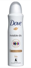 Dove Deospray Invisible Dry 150ml
