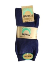 Naproz Thermo Sokken 39-42 Blauw 3paar