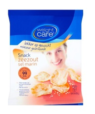 Weight Care Chips Snack Zeezout 25g