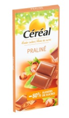 Cereal Tablet praline maltitol 100g