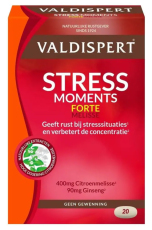 Valdispert Stress Moments Extra Sterk 20 tabletten