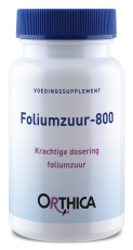 Orthica Foliumzuur 800 120 tabletten