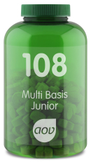 AOV 108 Multi Basis Junior 180 kauwtabletten