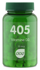 AOV 405 Vitamine D3 15mcg 180 tabletten