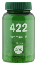 AOV 422 Vitamine D3 50mcg 120 tabletten