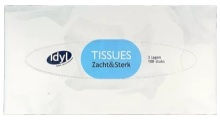 Idyl Tissues box 100st