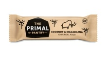 the primal pantry Coconut & Macadamia Bar 4 Stuks
