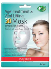 Purederm Age Treatment & Vital Lifting 3D Gezichtsmasker