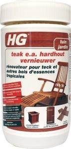 Een speciaal ontwikkelde formule om hardhout te herstellen.