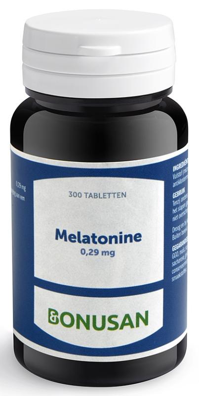 Bonusan Melatonine 0,29 mg 300 tabletten