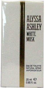 Alyssa Ashley Parfum White Musk Eau De Toilette 25 ml
