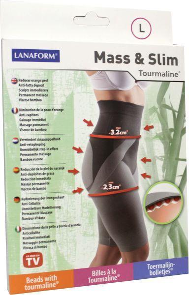 Lanaform Mass slim toermaline broek maat l 1st