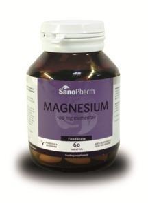 Sanopharm Magnesium 100mg 60tab