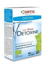Ortis Voedingssupplementen Methoddraine Detoxine 60 tabletten