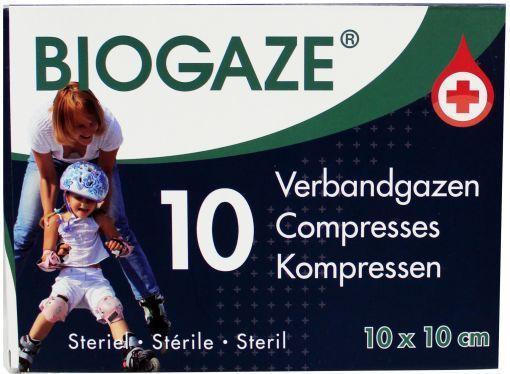 Biogaze Verbandgazen 10st