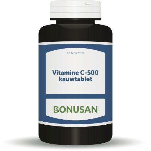 Bonusan Vitamine C 500mg 946 Kauwtabletten 60kt