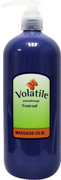 Volatile Massageolie Neutraal 1 liter