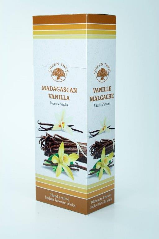 Green Tree Wierook madagascan vanilla 6 x 20st