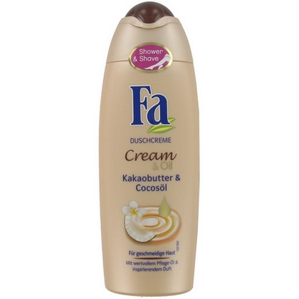 Fa Showergel Cream and Oil Cacao Butter and Coco Oil 250ml