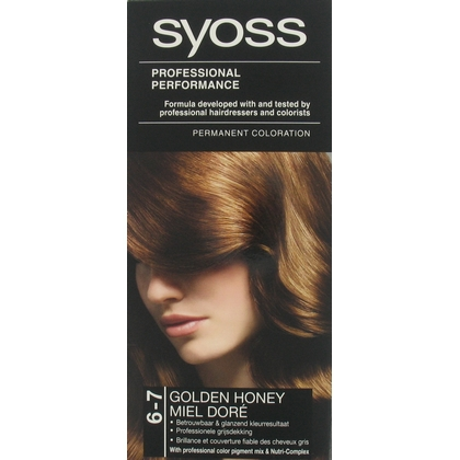 Syoss Colors 6-7 gold honey verp.