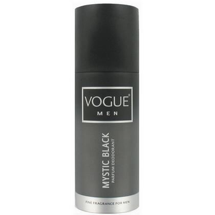 Vogue Men Deodorant Deospray Mystic Black 150ml