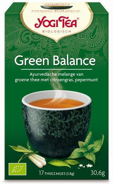 Yogi tea green balance 17st voordelig online kopen - Bibliotheek balances ...
