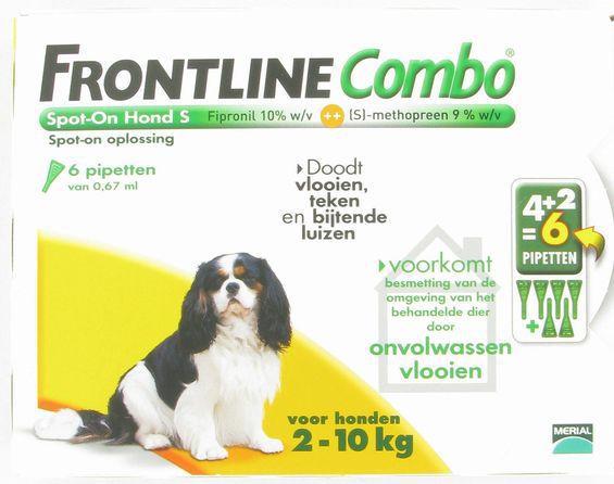 Frontline Dier H S Vlo Teek 4st