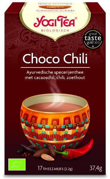 Yogi Tea Choco chilli 17st