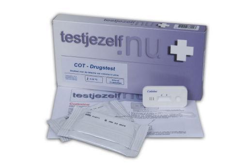 Testjezelf.nu Drugstest cotinine (nicotine) 3st