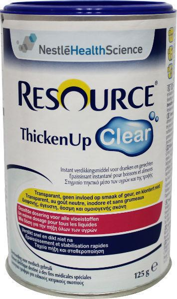 Resource Dieetvoeding resource thicken up clear 125g