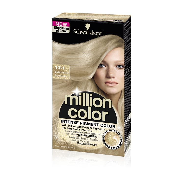 Schwarzkopf Million Color 10-1 1st