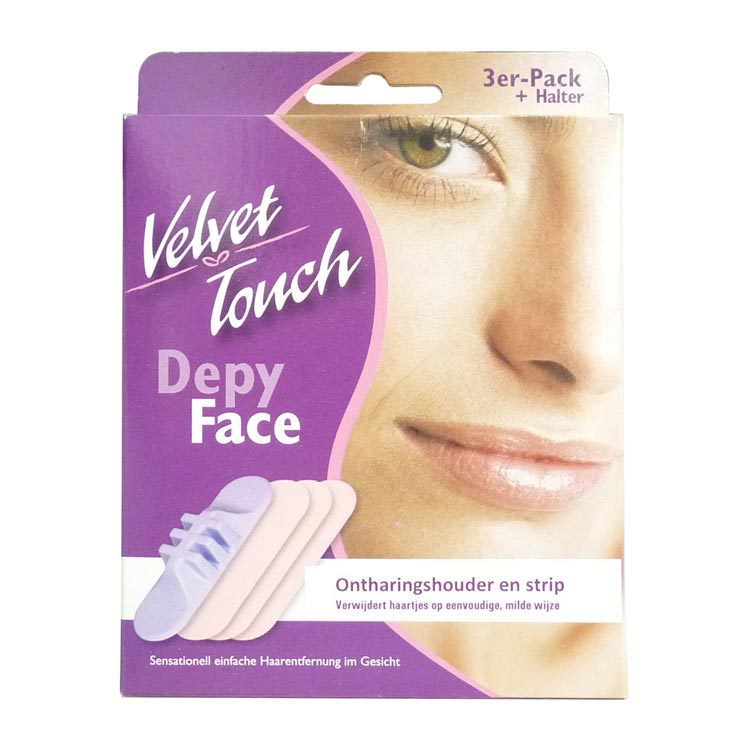 Velvet Touch Ontharingstrips face 3st