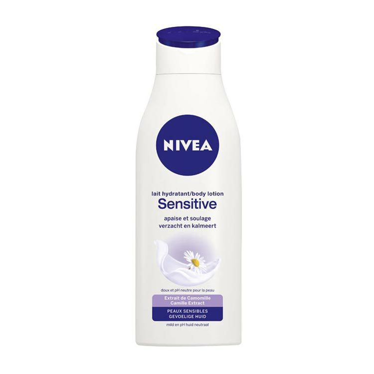 Nivea sensitive body lotion